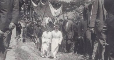 Fiestas del Corpus en Cabrera