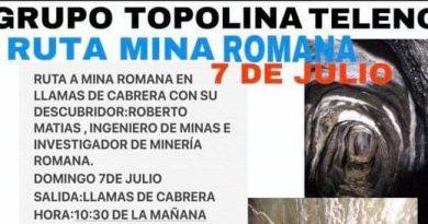 Ruta a la mayor mina de oro subterránea de época romana de España