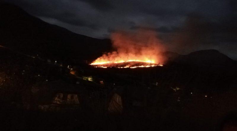 Arde La Baña