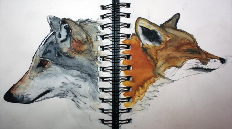 La raposa y el lobo