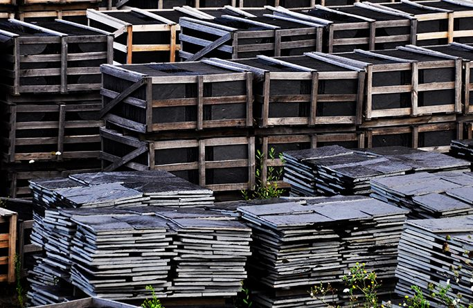 La exportación de pizarra crece un 5%, aunque no cumple con las expectativas de ventas
